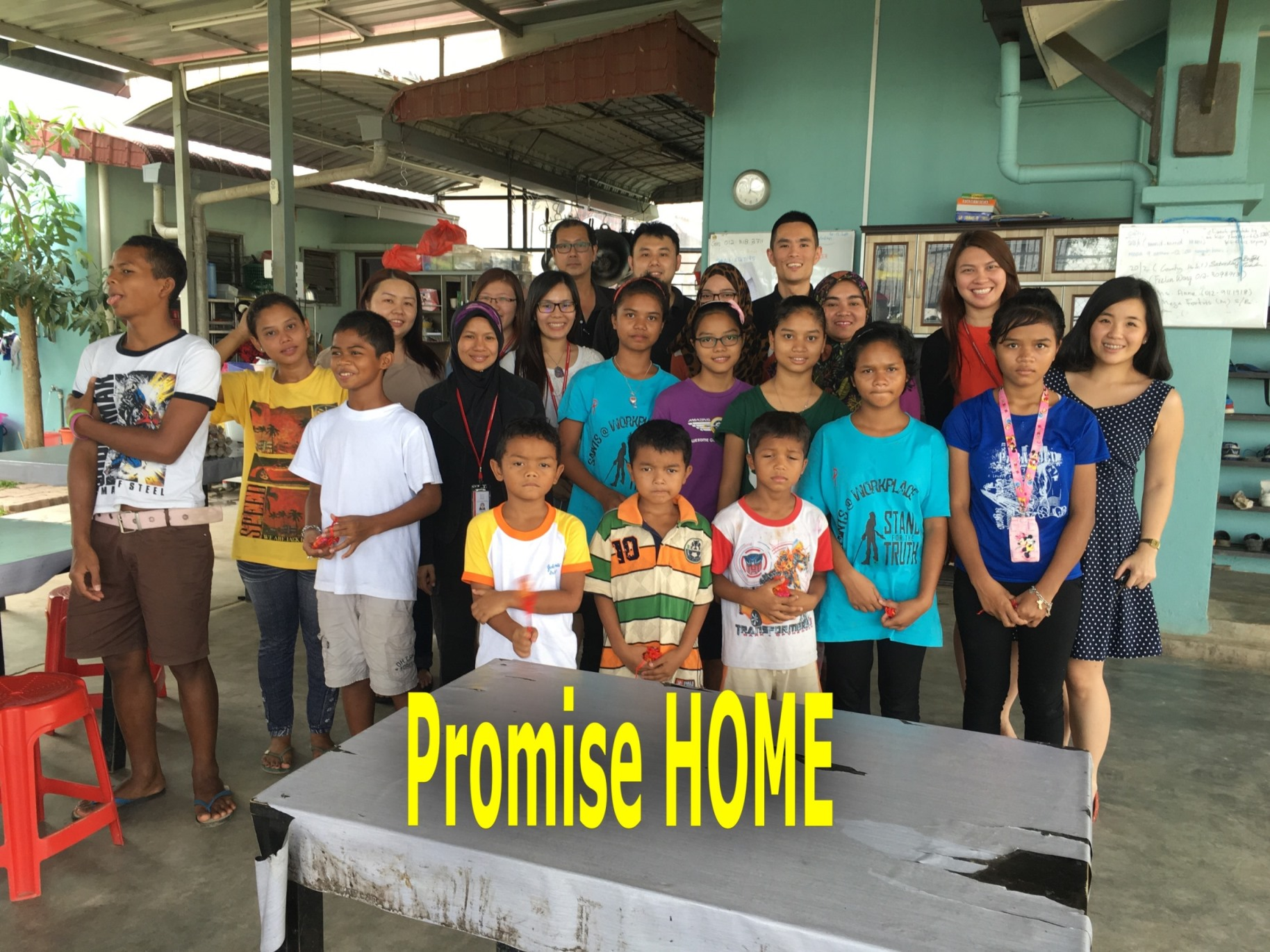 Donation Drive to Promise Home 1