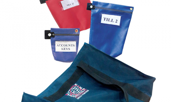 RE-USABLE SECURITY BAGS & POUCHES